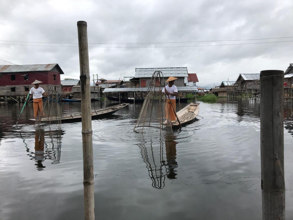 Myanmar   Meine Rundreise in sieben Tagen sonne land und leute reisebericht new myanmar  tui berlin myanmar einbeinfischer