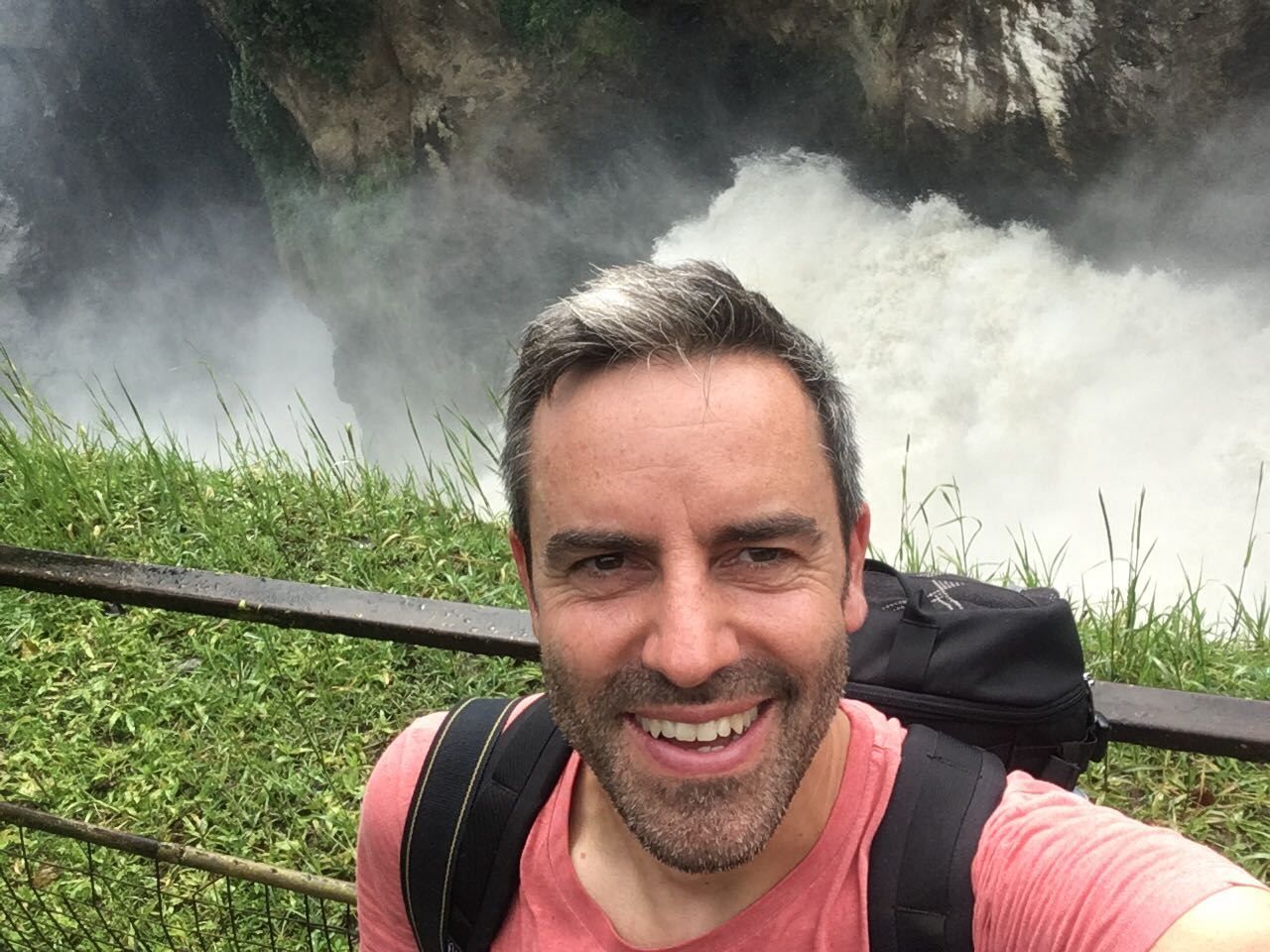 Selfie im Murchison Falls Nationalpark, Uganda - World of TUI Berlin Reisebericht