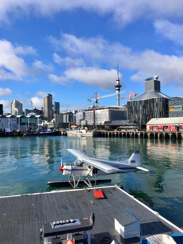 TUI, Reisebüro, Berlin, Neuseeland, Experte, Nordinsel, Auckland, Hafen, Silos
