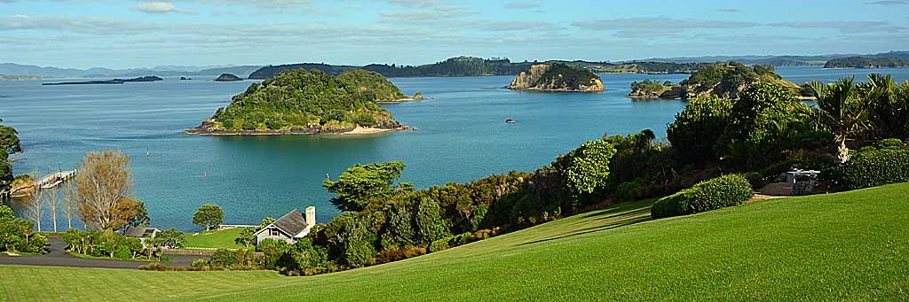Meine Top 5 Luxury Lodges im Norden Neuseelands land und leute reisebericht neuseeland new  tui reisebuero berlin neuseeland bay of islands the landing panorama