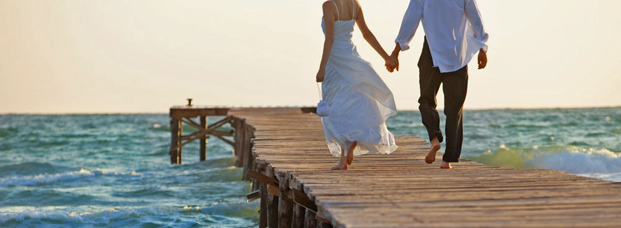 TUI, Heiraten. Honeymoon, Flitterwochen, Paradies, Reisebüro, Berlin