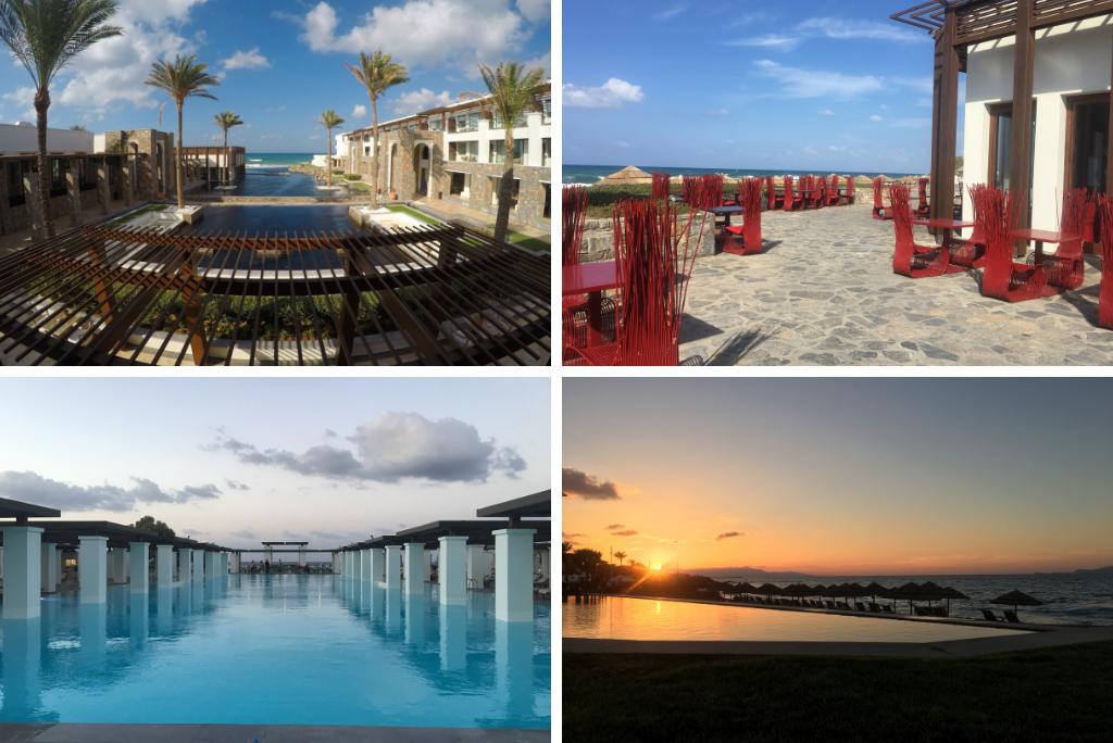 Meine Top 6 Hoteltipps Kreta sonne reisebericht new griechenland  TUI Berlin Reisebuero Grecotel Amirandes Collage