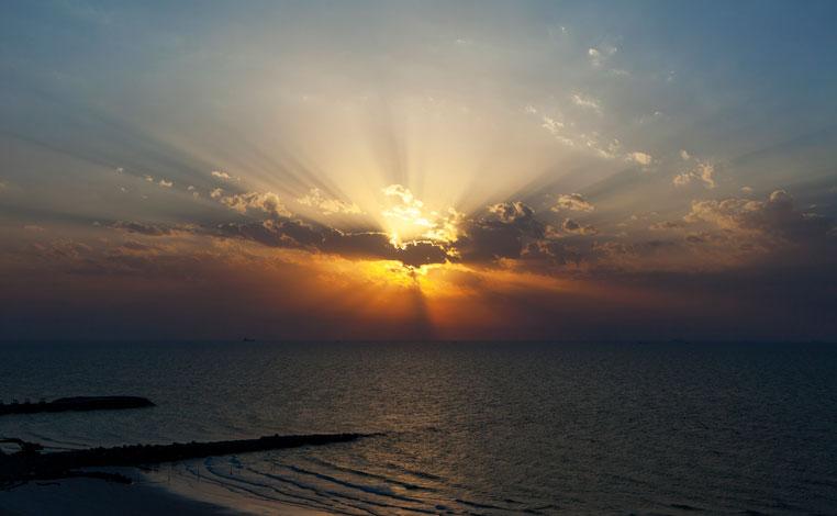 Unter dem arabischen Sternenhimmel vae sonne expertentipps dubai abu dhabi  tui berlin ajman sunset