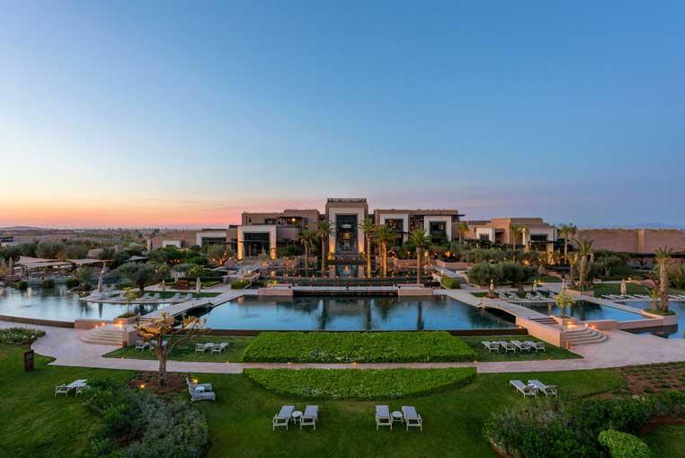Top 4 Hoteltipps für Marrakesch tui hotels staedtereisen sonne marokko expertentipps airtours hotels  tui berlin marrakesch royal palm außenansicht