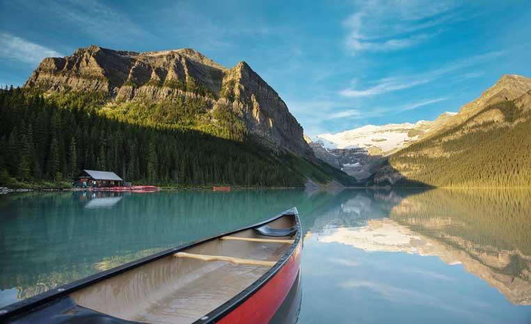 Natur pur: Das einzigartige Kanada sonne kanada expertentipps  tui berlin lake louise copyright