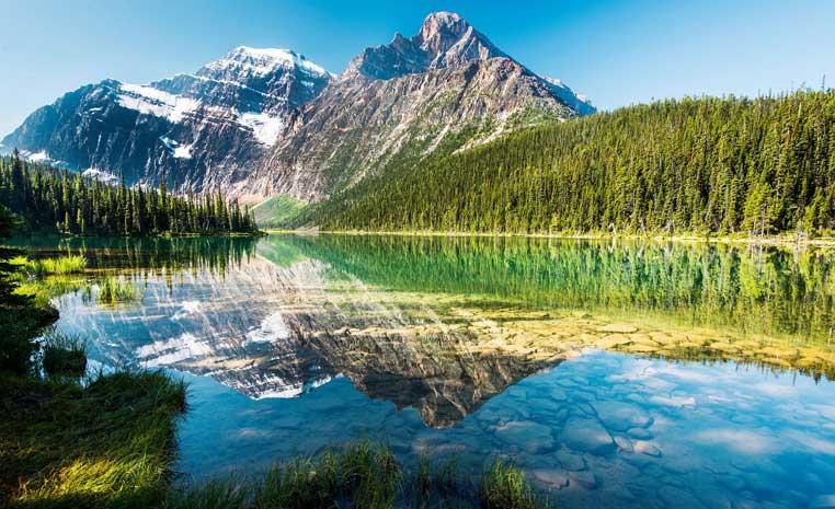 Natur pur: Das einzigartige Kanada sonne kanada expertentipps  tui berlin maligne lake copyright