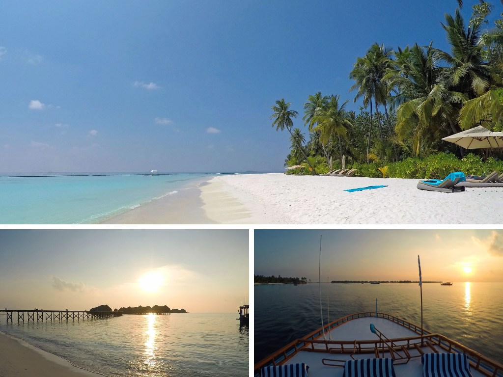Malediven   Constance Hotels and Resorts strand reisebericht new malediven  Constance Halaveli Impressionen
