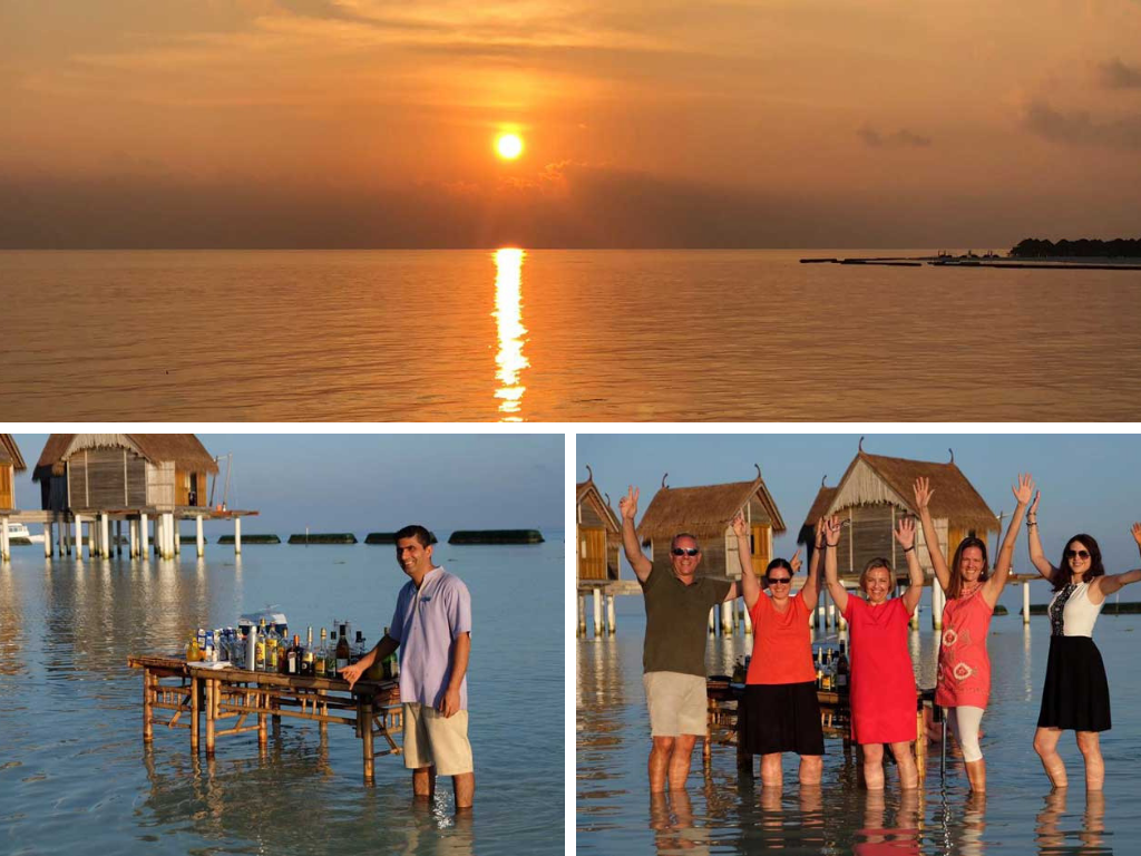 Malediven   Constance Hotels and Resorts strand reisebericht new malediven  constance moofushi cocktails im wasser