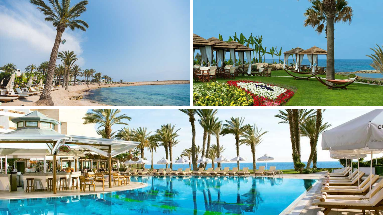 Insel der Götter: Zypern entdecken mit TUI zypern tui hotels strand sonne angesagte reiseziele angebote und specials angebot airtours hotels  tui berlin sensimar pioneer beach canva