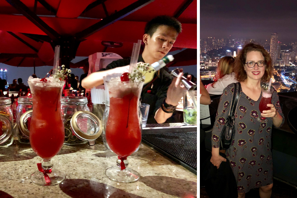 Rooftop Bar des Marina Bay Sand Hotel - World of TUI Berlin Reisebericht