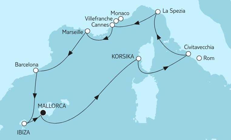 Sommerschlussverkauf bei TUI Cruises tui cruises sonne kreuzfahrt angebote und specials angebot  tui berlin tuicruises mittelmeer mit ibiza 1 1