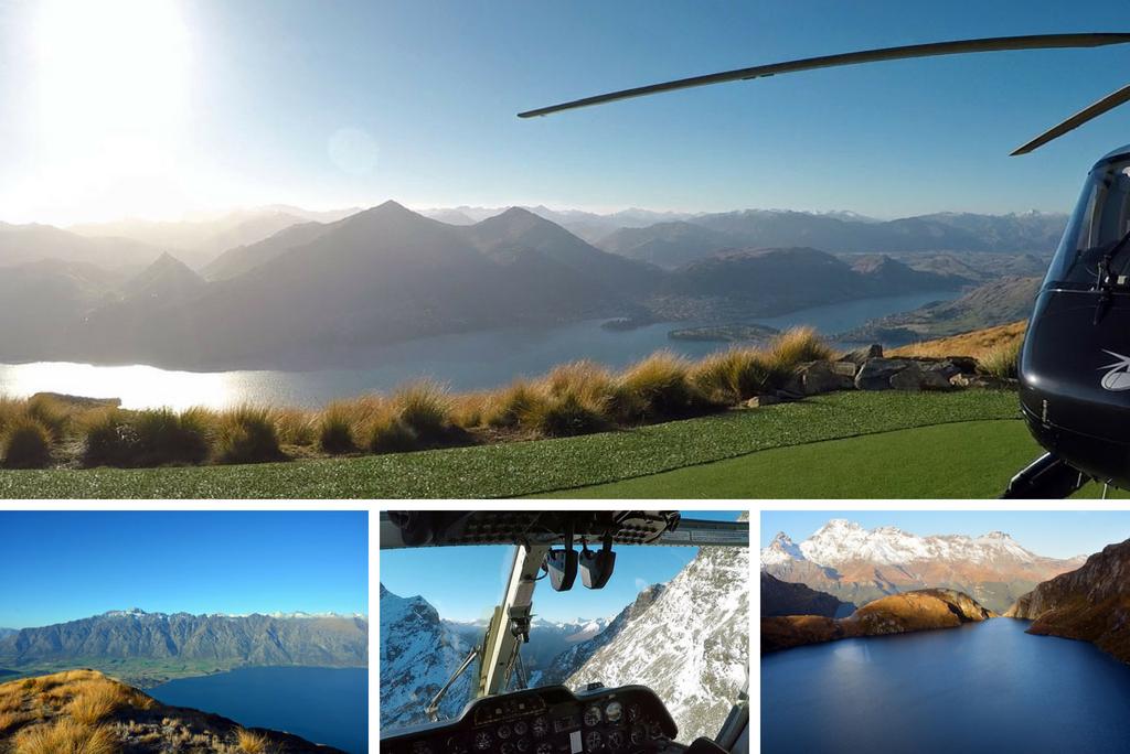 Helikopterflug von Queenstown über den Lake Wakatipu, Neuseeland - World of TUI Berlin Reisebericht