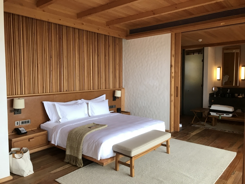 Zimmer in der Six Senses Thimphu Lodge, Bhutan - World of TUI Berlin Reisebericht