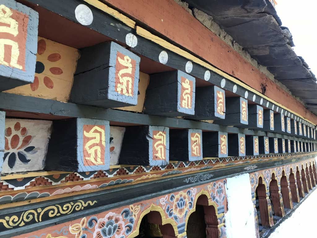 Gebetsmühlen, Bhutan - World of TUI Berlin Reisebericht