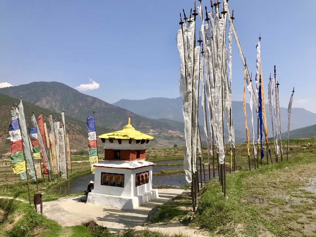Tempel für Gebetsmühlen, Bhutan - World of TUI Berlin Reisebericht