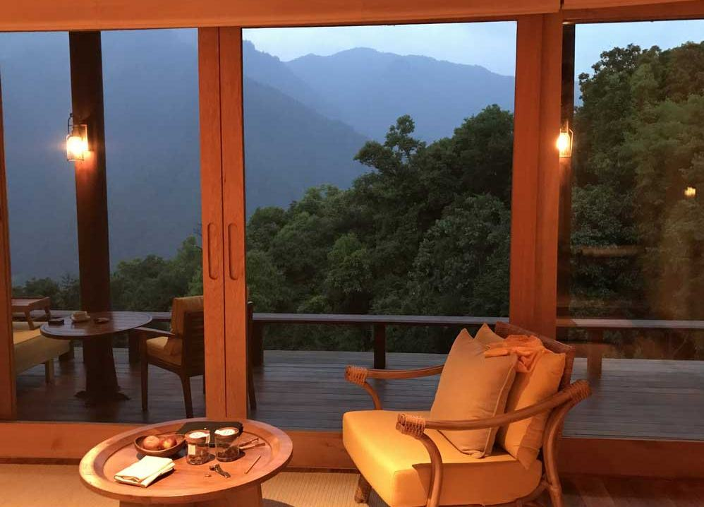 Zimmer in der Six Senses Punakha Lodge, Bhutan - World of TUI Berlin Reisebericht
