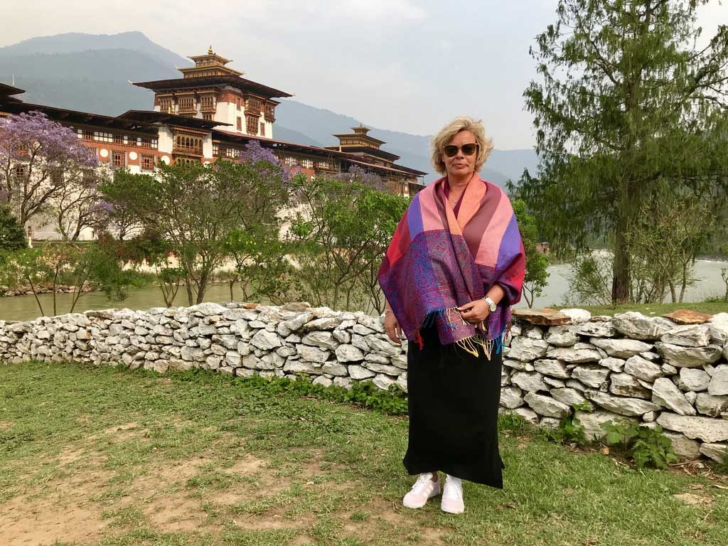Punakha Dzong-Klosterburg in Bhutan - World of TUI Berlin Reisebericht