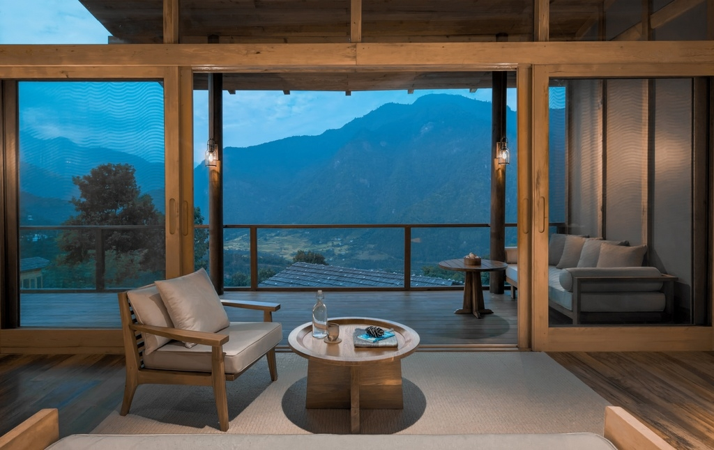 Suite in der Six Senses Punakha Lodge, Bhutan  - World of TUI Berlin Reisebericht