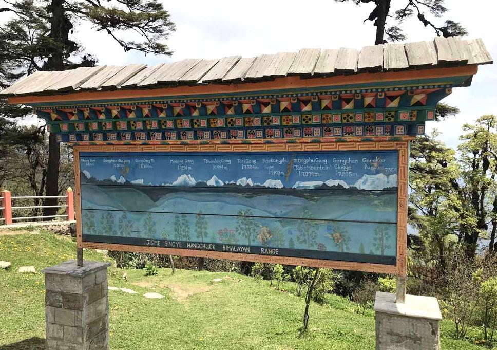 Infotafel Dochulapass, Bhutan - World of TUI Berlin Reisebericht