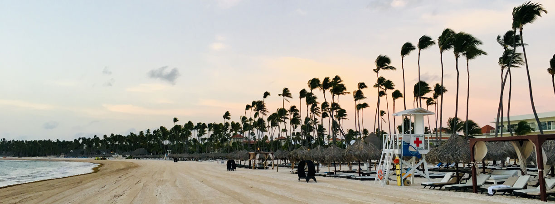 Punta Cana, Strand, Paradisus, Sonnenaufgangm, Dominikanische Republik, Sommer