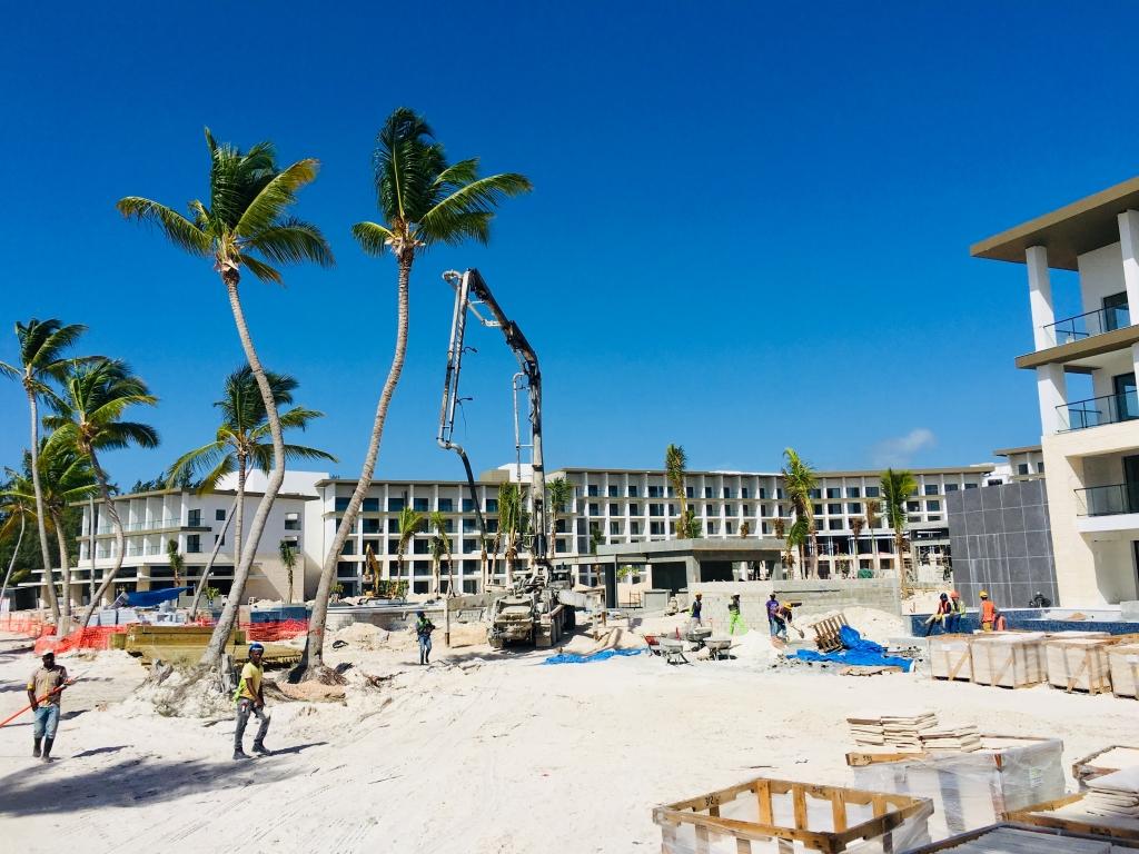Meine Top 12 Hotels im Süden der Dominikanischen Republik strand sonne new dominikanische republik  TUI Dom Rep Punta Cana Hyatt Ziva und Zilara Baustelle 1 1024x768