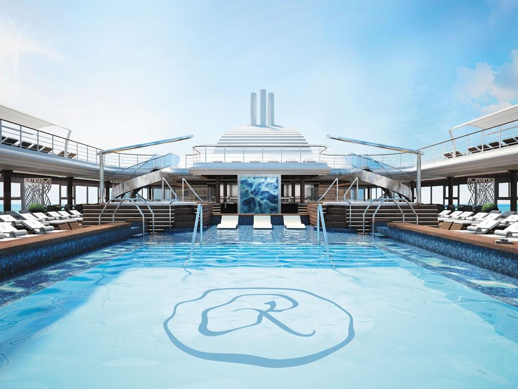 RSS Splendor Pool Deck - World of TUI Berlin Reisebericht