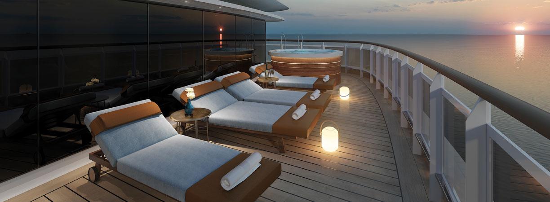 RSS Splendor Regent Suite Balcony - World of TUI Berlin Reisebericht
