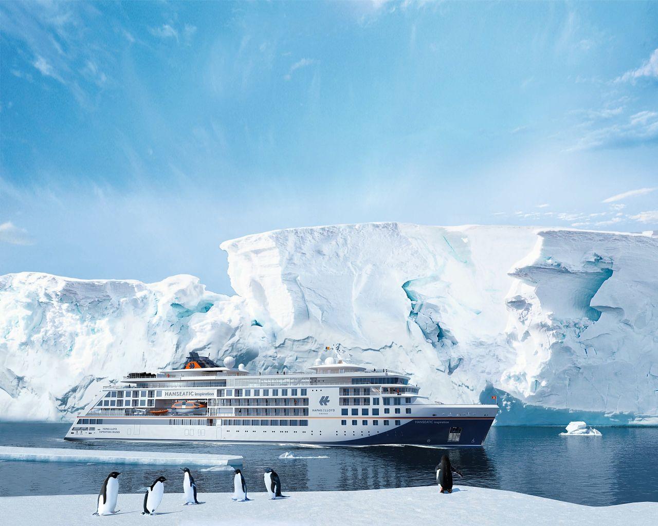 Hanseatic nature Antarktis Hapag Lloyd Cruises