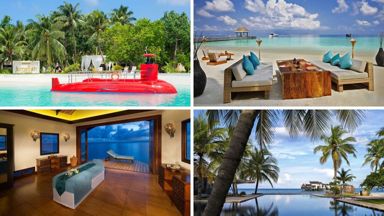 Jumeirah Vittaveli, Malediven - World of TUI Berlin