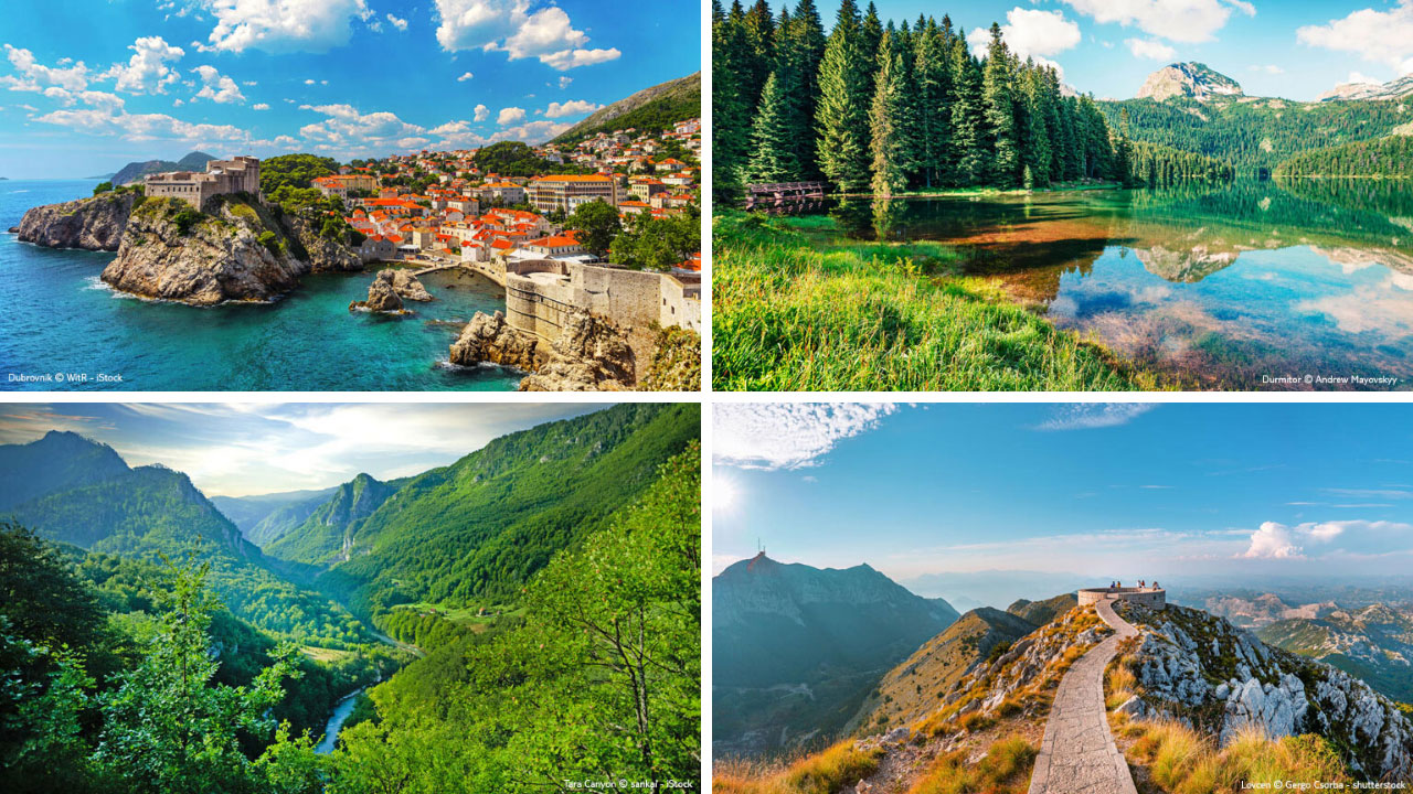 Landschaft in Montenegro - World of TUI Berlin