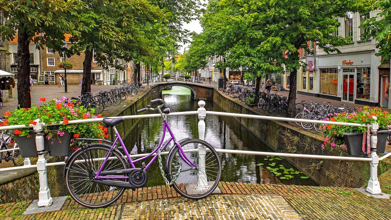 Stadtkanal Niederlande