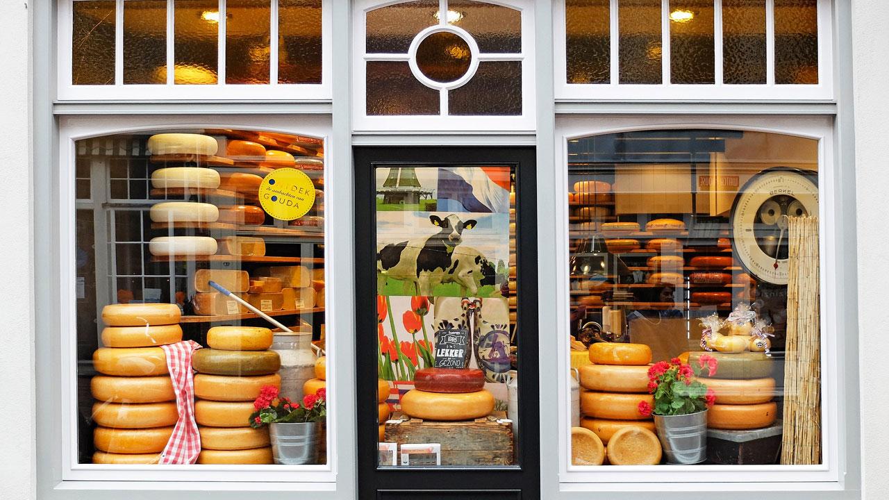 Niederländische Käserei