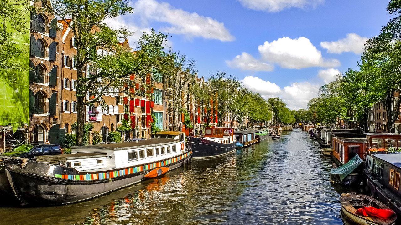 Niederländischer Stadtkanal