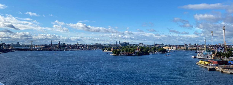 Abfahrt in Stockholm an Bord der TUI Cruises Mein Schiff 2