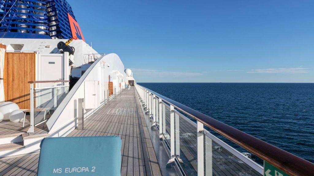 An Bord der MS Europa 2