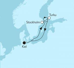 TUI Cruises Mein Schiff 1 Blaue Reise Ostsee