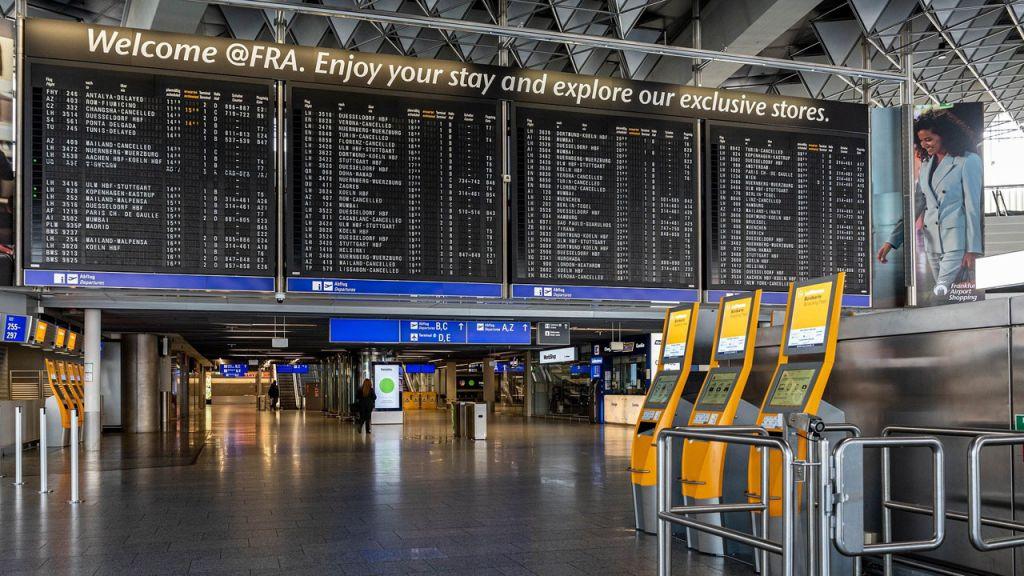 Flughafen Frankfurt Ankunftshalle