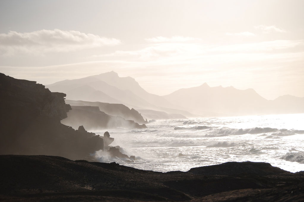 Felsenküste auf Fuerteventura