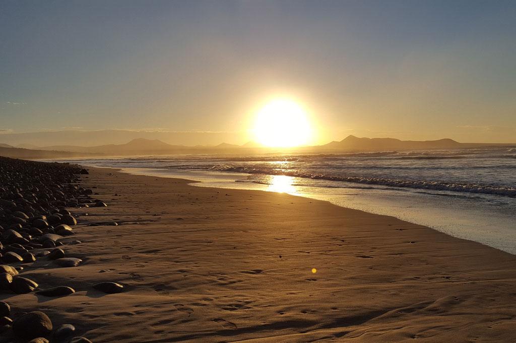 Strand auf Lanzarote, Kanaren