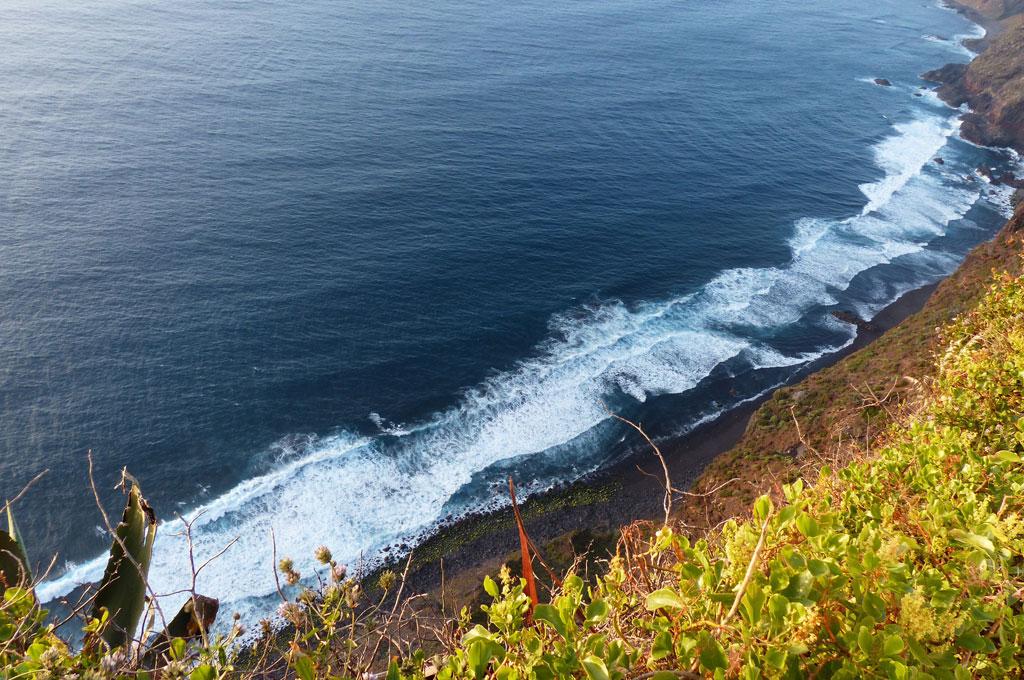 Steilküste auf Teneriffa
