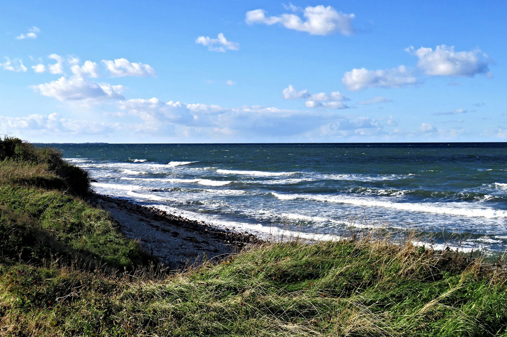 Ostseeküste in Kattegat, Dänemark