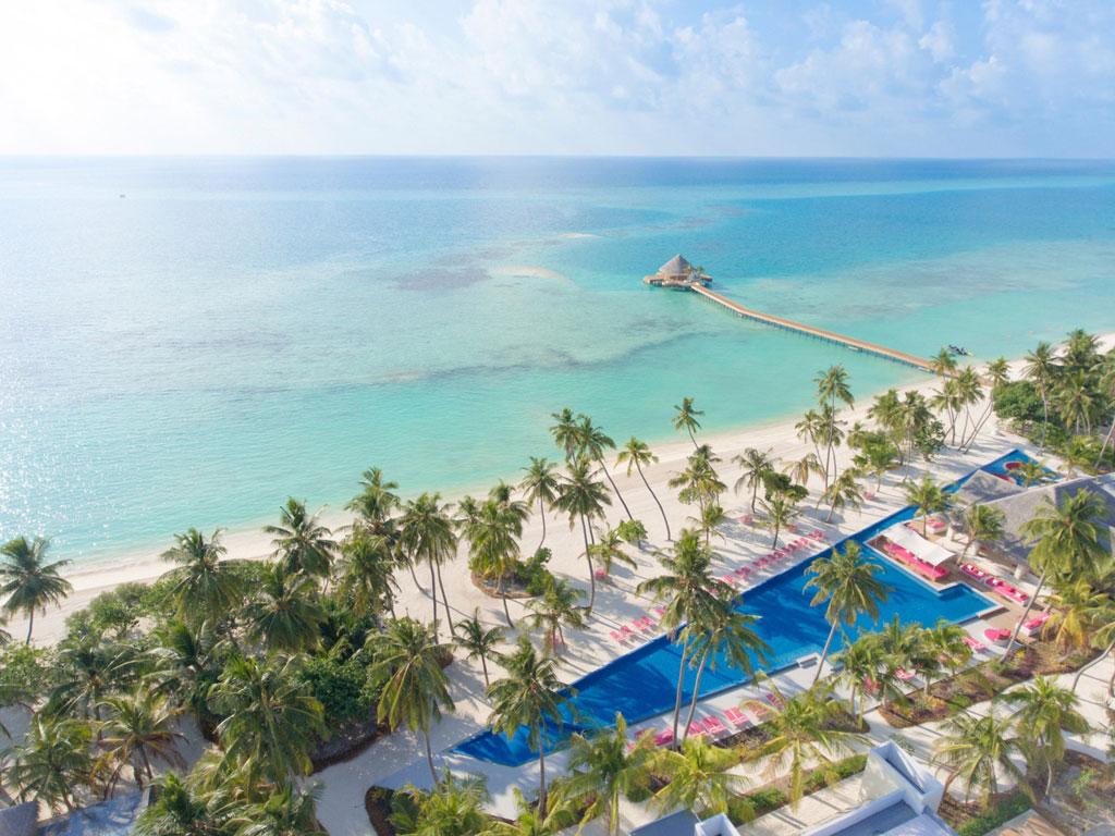 Kandima Maldives Außenansicht