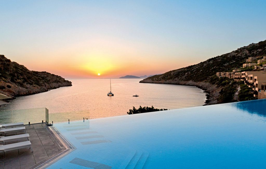 Daios Cove Resort Langingpage