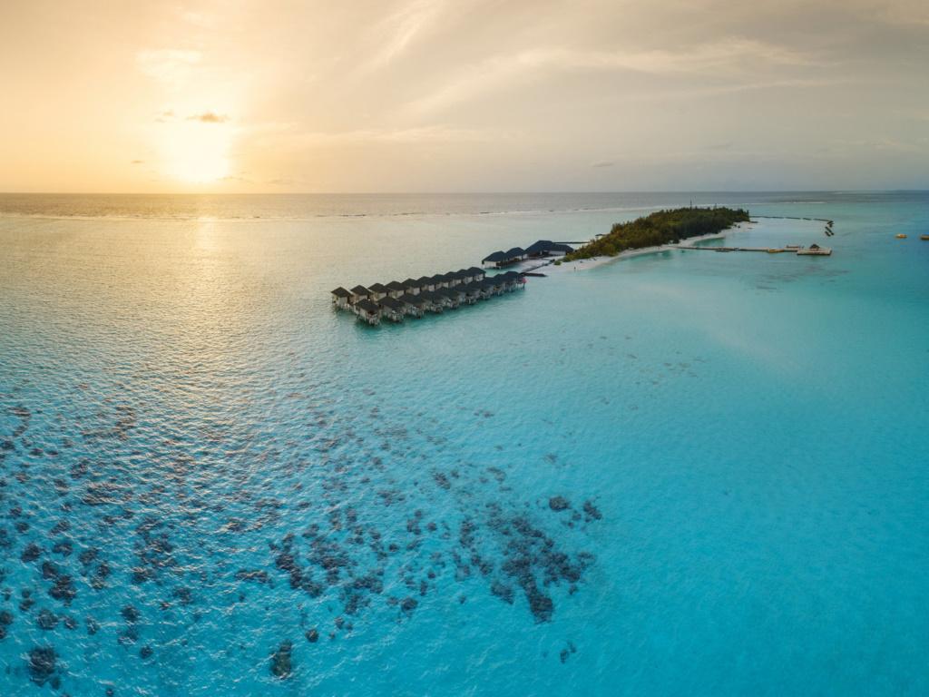 Summer Island Maldives - Außenansicht