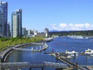 Coal Harbour in Vancouver