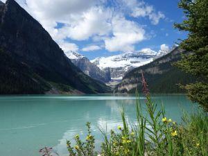 Lake Louise in Alberta, Kanada