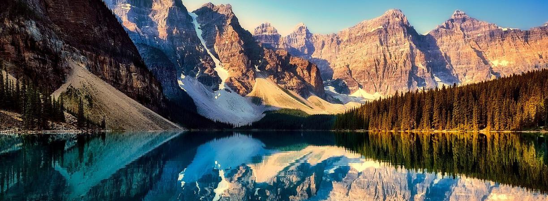 Moraine Lake in Kanada, Alberta