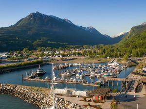 Hafen von Skagway in Alaska