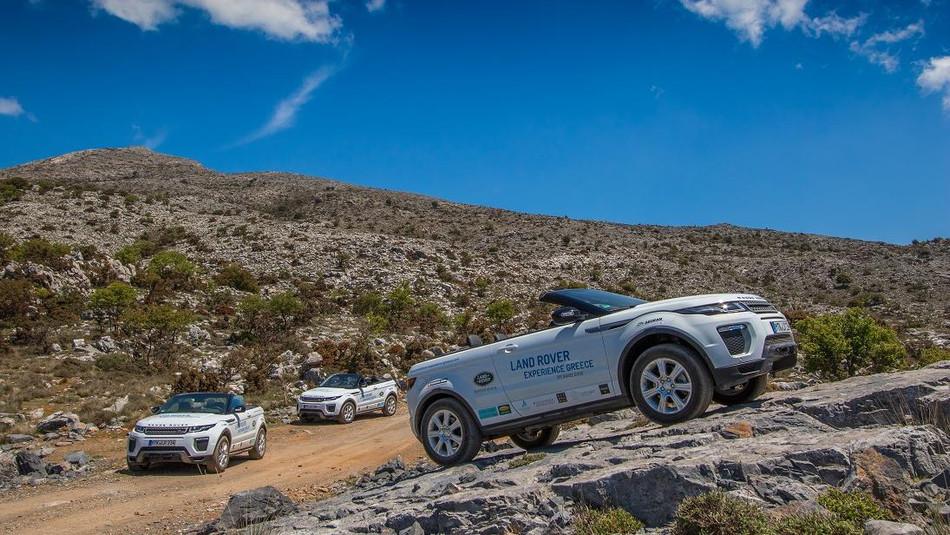 Land Rover Experience im Daios Cove Luxury Retreat & Villas auf Kreta
