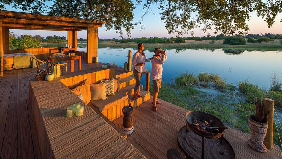Bett unter den Sternen von Wilderness Safaris